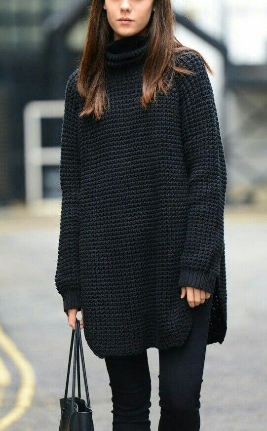 robe-pull-a-grosse-maille